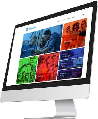 Pantalla Soy diseñadora web Kedaro